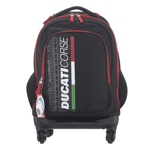 Paxos Ducati Italian Colours - Σχολικές Τσάντες - ΜΑΥΡΟ