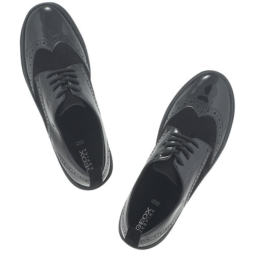 Geox - Brogues & Loafers - ΜΑΥΡΟ