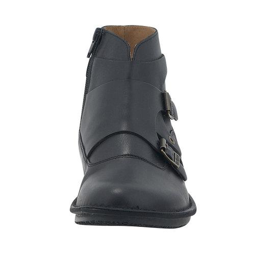 Kickers Waboot - Comfort - ΜΑΥΡΟ