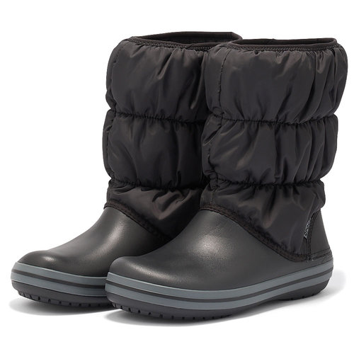 Crocs Winter Puff Book - Γαλότσες - ΜΑΥΡΟ