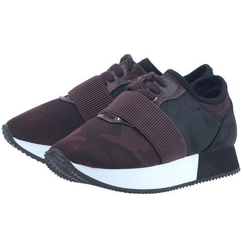 Blink - Sneakers - ΜΑΥΡΟ/ΜΠΟΡΝΤΩ