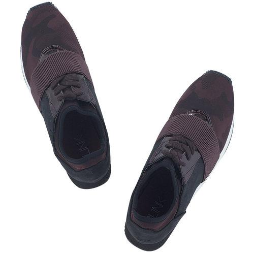Blink - Sneakers - ΜΑΥΡΟ/ΜΠΟΡΝΤΟ