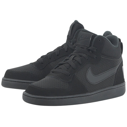 Nike Court Borough Mid (GS) - Αθλητικά - ΜΑΥΡΟ