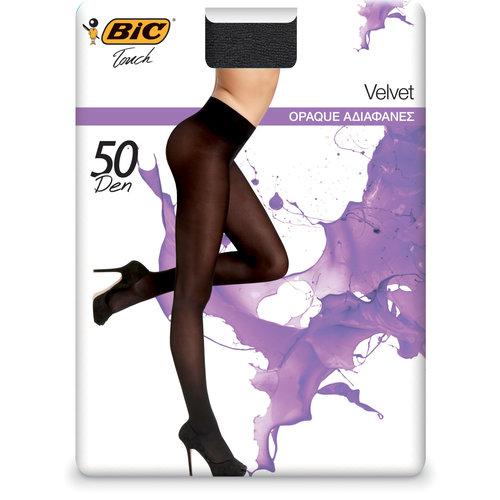 Bic Velvet - Καλσόν - ΜΑΥΡΟ