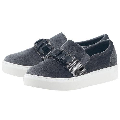 Tata - Sneakers - ΓΚΡΙ/ΜΑΥΡΟ