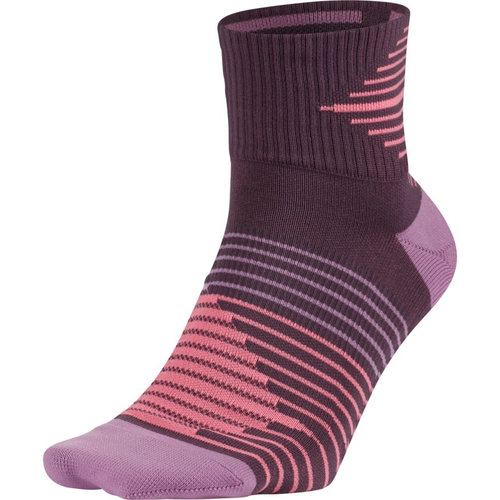 Nike Dri-FIT Lightweight No-Show Running Sock - Κάλτσες - ΜΩΒ/ΡΟΖ