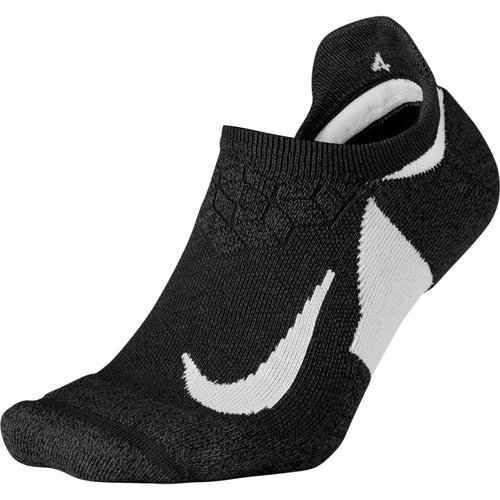 Nike Dry Elite Cushioned No-Show Running Sock - Κάλτσες - ΜΑΥΡΟ/ΓΚΡΙ