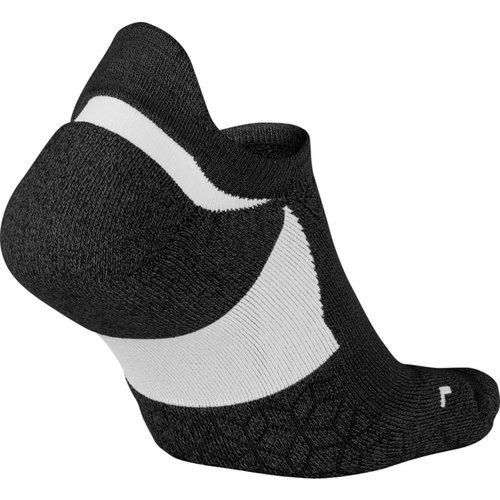 Nike Dry Elite Cushioned No-Show Running Sock - Κάλτσες - ΜΑΥΡΟ/ΓΚΡΙ