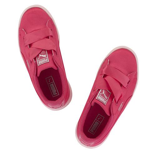 Puma Basket Heart Tween Ps - Sneakers - ΦΟΥΞΙΑ