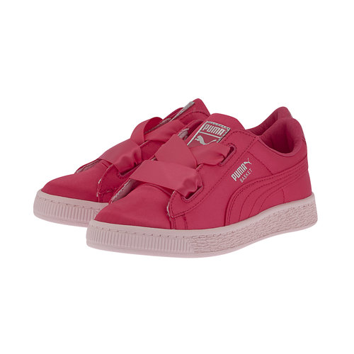 Puma Basket Heart Tween Ps - Casual - ΦΟΥΞΙΑ