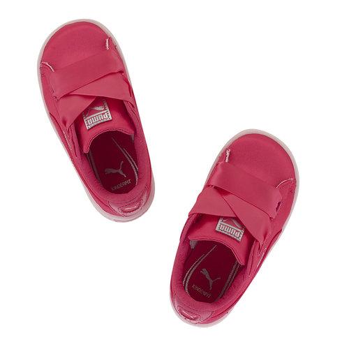 Puma Basket Heart Tween Inf - Sneakers - ΦΟΥΞΙΑ