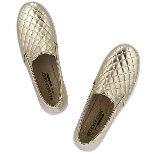 Skechers Double Up- Duvet - Sneakers - ΧΡΥΣΟ