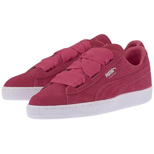 Puma Suede Heart Valentine Jr - Sneakers - ΦΟΥΞΙΑ