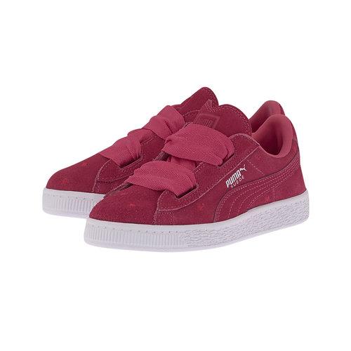 Puma Suede Heart Valentine Ps - Sneakers - ΦΟΥΞΙΑ
