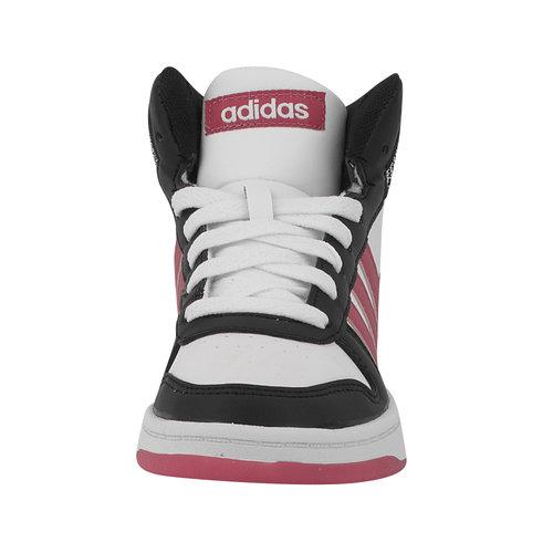 adidas Hoops Mid 2 K - Αθλητικά - ΛΕΥΚΟ/ΜΑΥΡΟ