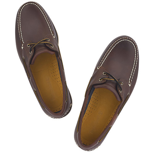Timberland Cls2I Boat Rootbeer - Brogues & Loafers - ΜΠΟΡΝΤΟ