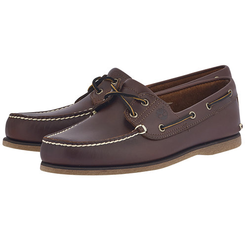 Timberland Cls2I Boat Rootbeer - Loafers - ΜΠΟΡΝΤΩ