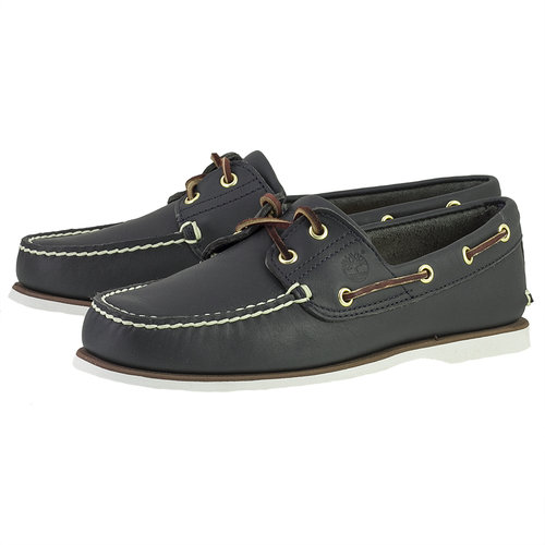 Timberland Cls2I Boat - Brogues & Loafers - ΜΠΛΕ ΣΚΟΥΡΟ