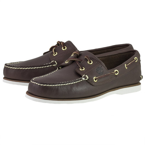 Timberland Cls2I Boat - Brogues & Loafers - ΜΠΟΡΝΤΟ