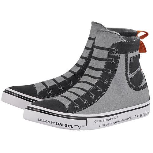 Diesel Imaginee S-Imaginee Mid - Sneakers - ΓΚΡΙ