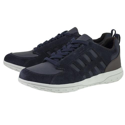 Geox U Mansel A - Sneakers - ΜΠΛΕ ΣΚΟΥΡΟ