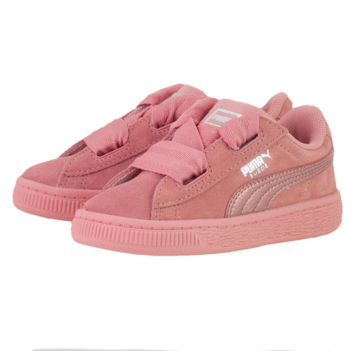 Puma Suede Heart Snk Inf - Sneakers - ΡΟΖ