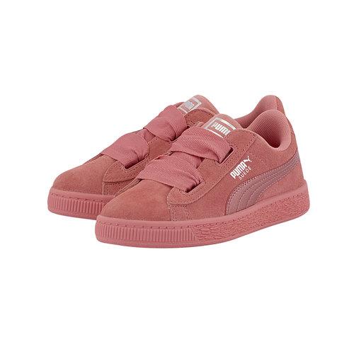 Puma Suede Heart Snk Ps - Sneakers - ΦΟΥΞΙΑ