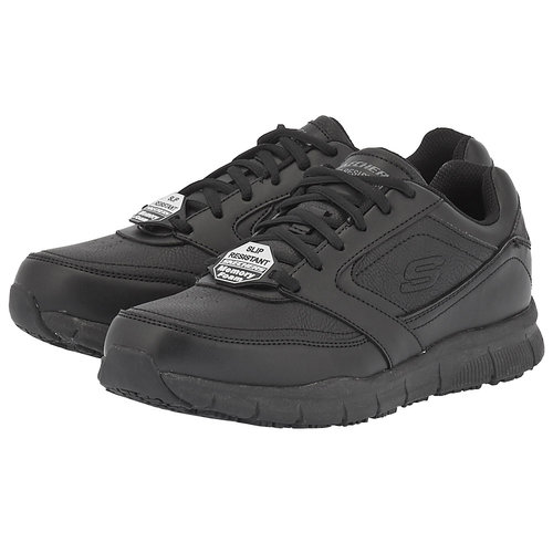 Skechers Lace Up Athletic W  Sr Outsole - Αθλητικά - ΜΑΥΡΟ