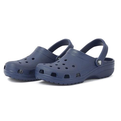 Crocs Classic - Παντόφλες - ΜΠΛΕ ΣΚΟΥΡΟ