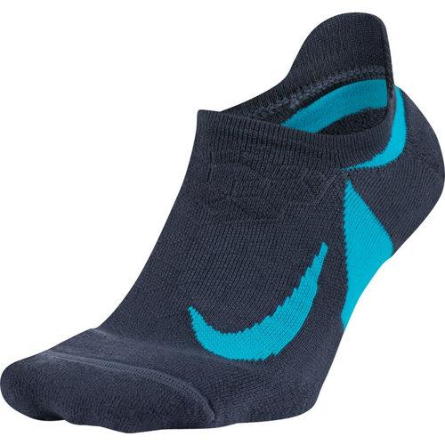 Nike Dry Elite Cushioned No-Show Running - Κάλτσες - ΜΠΛΕ ΣΚΟΥΡΟ