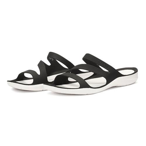 Crocs Swiftwater Sandal W - Σαγιονάρες - ΜΑΥΡΟ