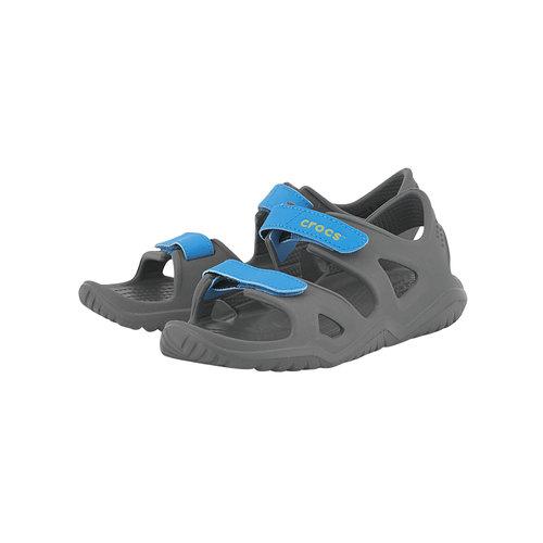 Crocs Swiftwater River Sandal K - Σαγιονάρες - ΓΚΡΙ