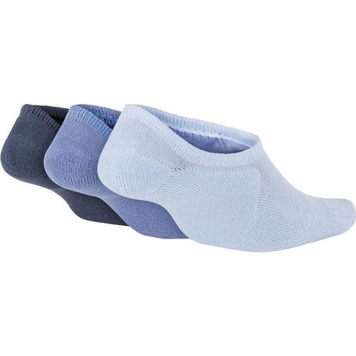 Nike Sportswear Footie Socks (3 Pair) - Κάλτσες - ΜΟΒ