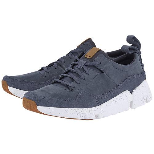 Clarks - Sneakers - ΜΠΛΕ ΣΚΟΥΡΟ