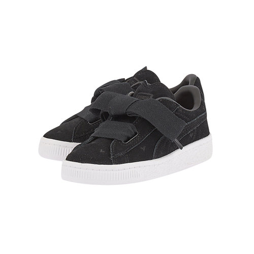Puma Suede Heart Valentine Inf - Sneakers - ΜΑΥΡΟ