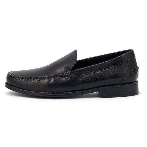 Geox U New Damon - Brogues & Loafers - ΜΑΥΡΟ