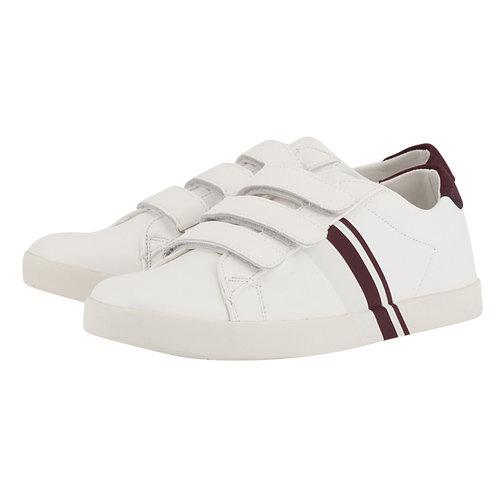 Levon - Sneakers - ΛΕΥΚΟ/ΜΠΟΡΝΤΩ