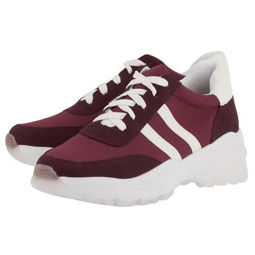 Louvel - Sneakers - ΚΟΚΚΙΝΟ/ΛΕΥΚΟ