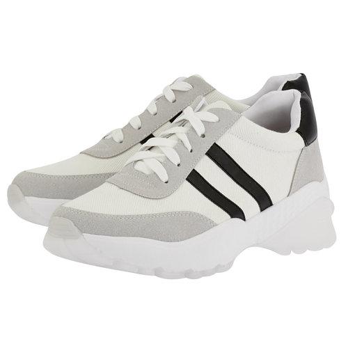 Louvel - Sneakers - ΛΕΥΚΟ/ΜΑΥΡΟ
