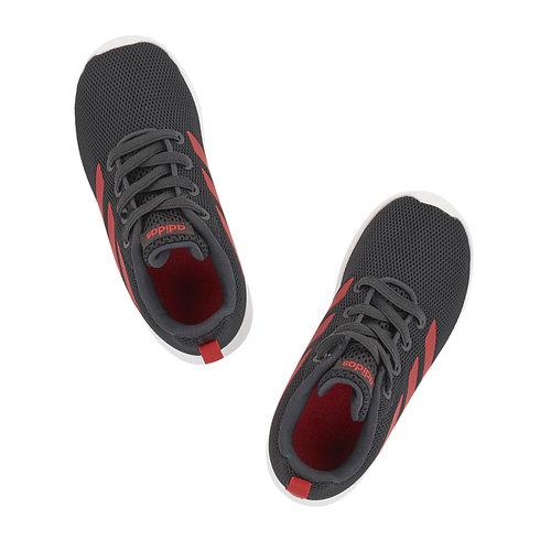 adidas Lite Racer Cln I - Αθλητικά - ΜΑΥΡΟ/ΚΟΚΚΙΝΟ