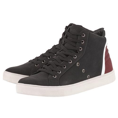 Levon - Sneakers - ΜΑΥΡΟ/ΜΠΟΡΝΤΩ