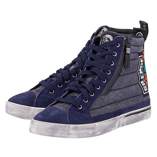 Diesel D-Velows D-Velows Mid Patch - Sneakers - ΜΠΛΕ