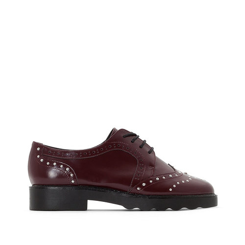 La Redoute Collections - Brogues & Loafers - ΜΠΟΡΝΤΟ
