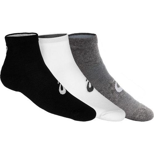 Asics 3Ppk Quarter - Κάλτσες - ΛΕΥΚΟ/ΓΚΡΙ