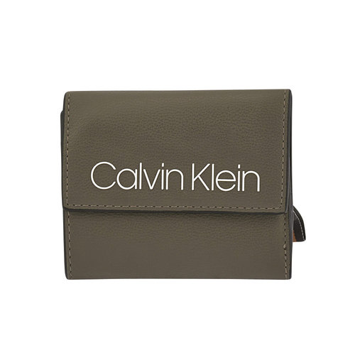 Calvin Klein Collegic Medium Trifold - Πορτοφόλια - ΧΑΚΙ