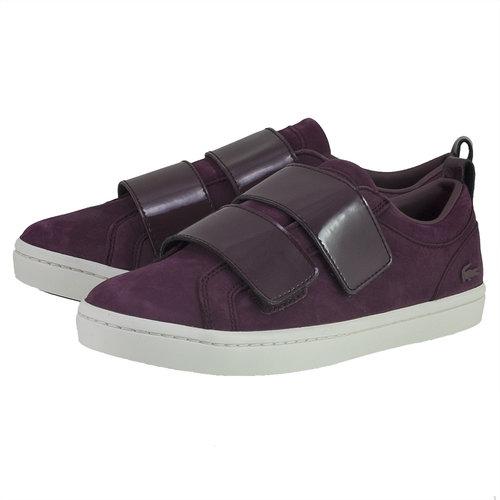 Lacoste Straightset Strap - Sneakers - ΜΠΟΡΝΤΩ