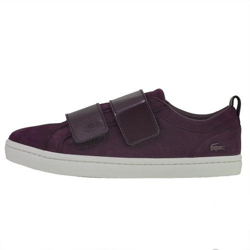 Lacoste Straightset Strap - Sneakers - ΜΠΟΡΝΤΟ