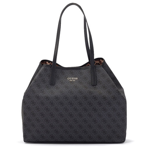 Guess Vikky Large Tote - Τσάντες - ΑΝΘΡΑΚΙ