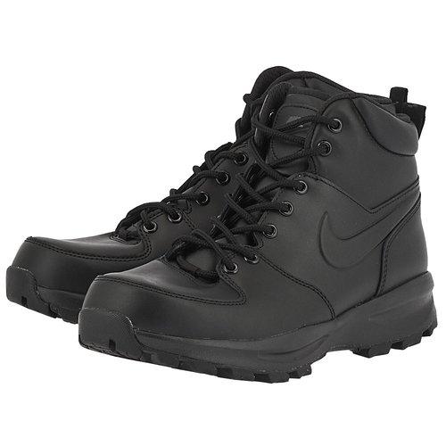 Nike Men's Manoa Leather Boot - Μποτάκια - ΜΑΥΡΟ