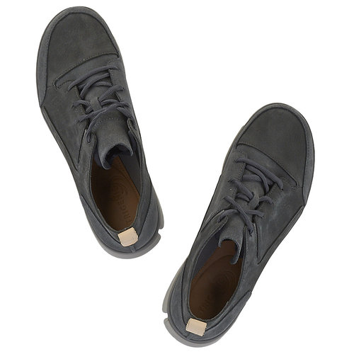 Clarks - Sneakers - ΓΚΡΙ ΣΚΟΥΡΟ